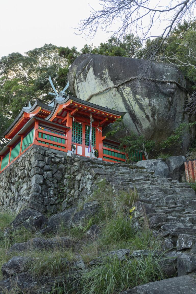〈神倉神社(かみくらじんじゃ)〉
