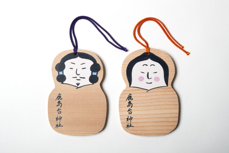 鹿島台神社(かしまだいじんじゃ)の 「ナギーとナミー」/宮城