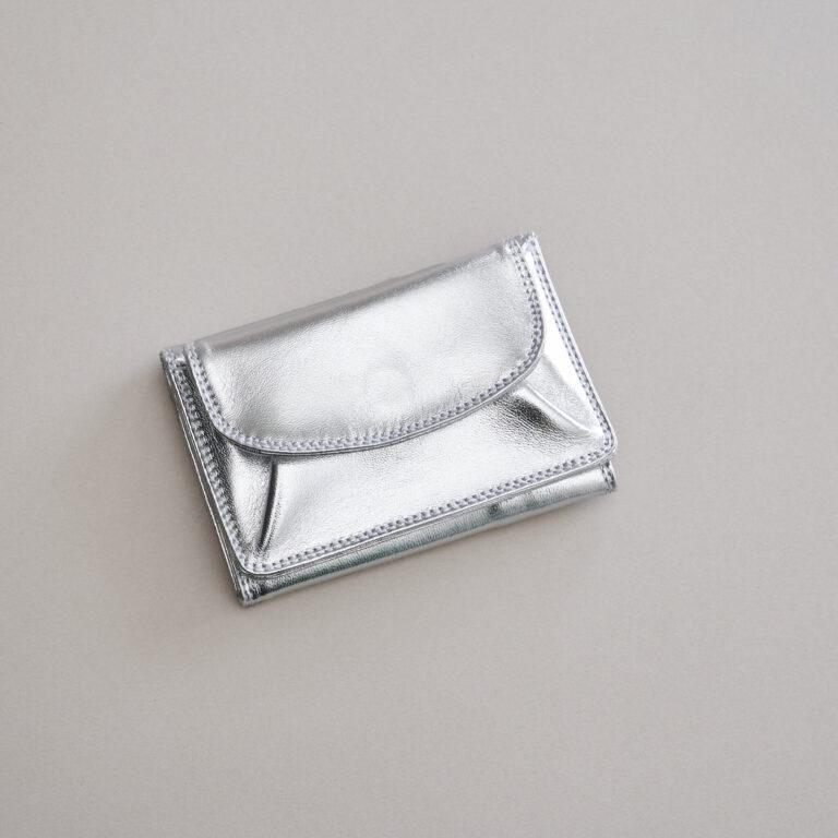三つ折財布 銀10,000円(和光)