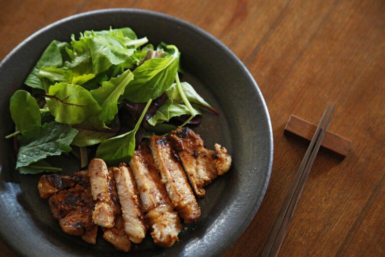 「豚肉の味噌粕漬け」