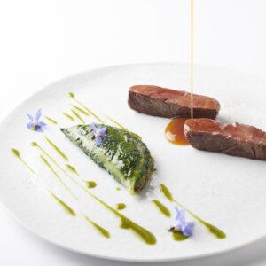 〈アルマーニ / リストランテ〉より和食材を使った冬メニューが登場。