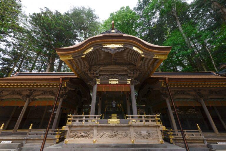 諏訪大社上社本宮-本宮幣拝殿