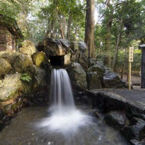 椿大神社-かなえ滝