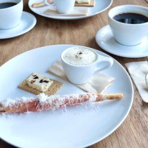 おすすめいただいたコーヒー「ハウスブレンド京都」とも相性抜群。