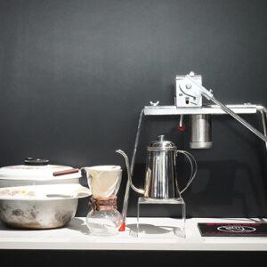 リ・ジョンヒョクの家事能力の高さとやさしさを演出したキッチン用品。