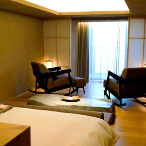 一室限定のスイートルームは66平米。