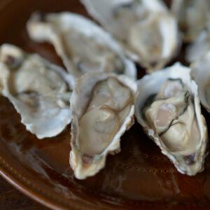 料理家の広沢京子さんから届いた新鮮な牡蠣。