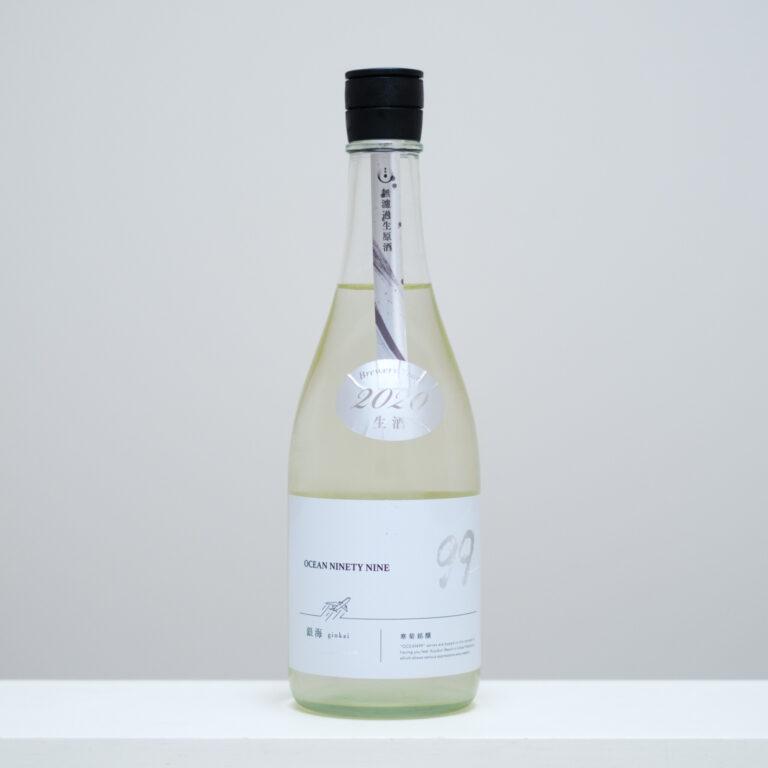1本目は、冬限定の絞りたての新酒「OCEAN99 銀海 -Departure- 無濾過生原酒」から。