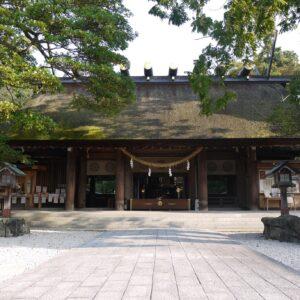 元伊勢籠神社-拝殿