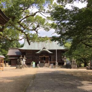 與止日女神社-本殿1