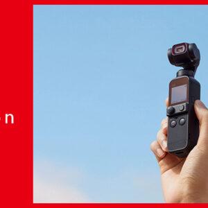 改めて魅力を深掘り!コンパクトなボディに手ブレ補正機能を搭載した4Kカメラ『DJI Pocket 2』とは?