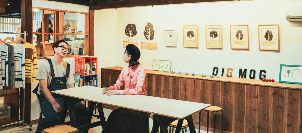 新潟県上越市でカフェ巡り。NHK『みいつけた!』の大塚いちおさんを訪ねて〈DIGMOG COFFEE〉へ。/Alice in Cafeland
