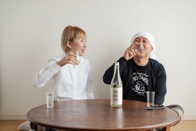 とれたてピチピチな微発泡が刺激的な「白岳仙 純米吟醸 荒走」。