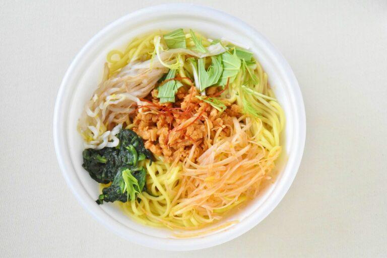 「濃厚ごまスープ担担麺」398円。