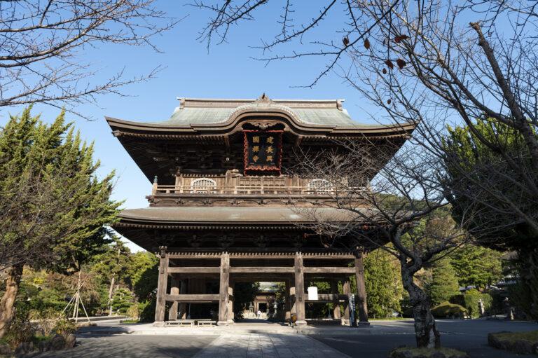 建長寺は1253年創建。