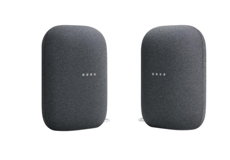 Google Nest Audio_2 devices_Charcoal