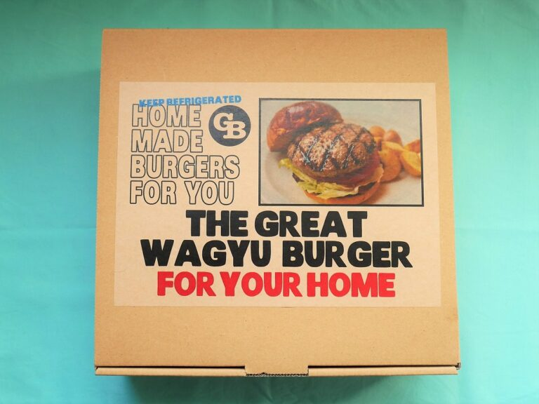 「THE GREAT WAGYU BURGER FOR YOUR HOME」3,024円(税込)。※送料別