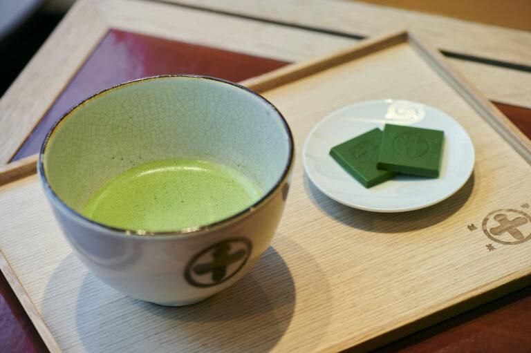 「薄茶(成光の昔)」880円