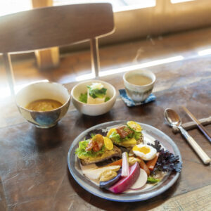 #Maru Cafe #佐久の新鮮な食材でランチ