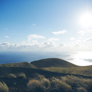 伊豆七島はもちろん、富士山も見えるかも!