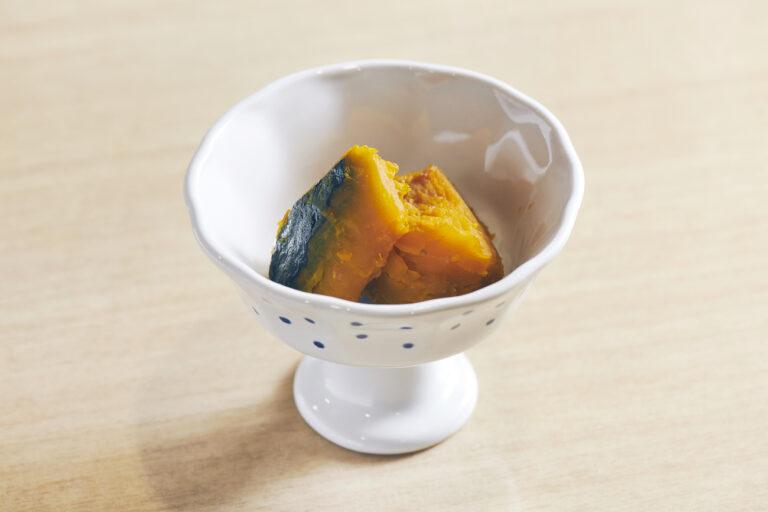 宿泊した日は冬至だったため、特別に「かぼちゃの煮物」も出た。