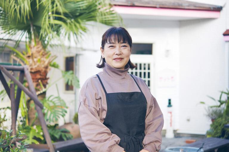 沖山厚子さん。
