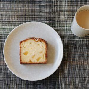 「カルヴァドスケーキ」。