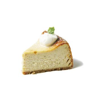 ラベンダーのベイクドチーズケーキ 420円(税込)『チーズケーキにラベンダー!?食べてさらに衝撃』(きょん。さん)