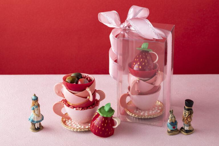 「アリスのカップ型チョコレート」3,000円。