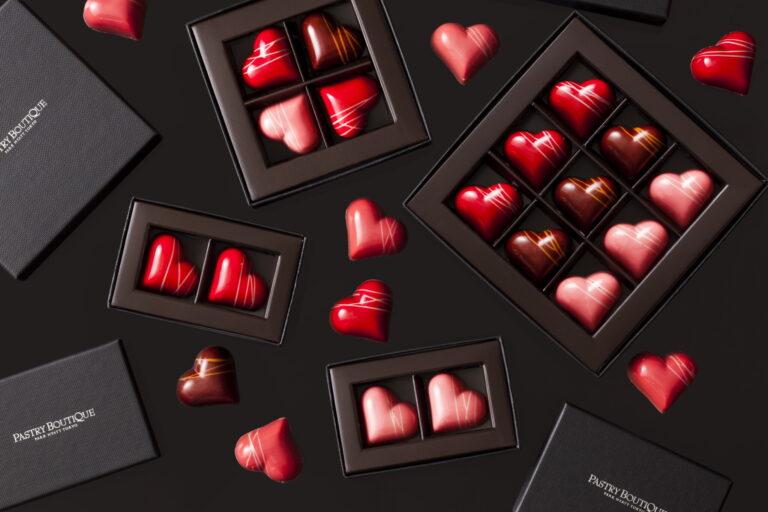 「バレンタインハート」2個680円/4個1,350円/9個3,000円。