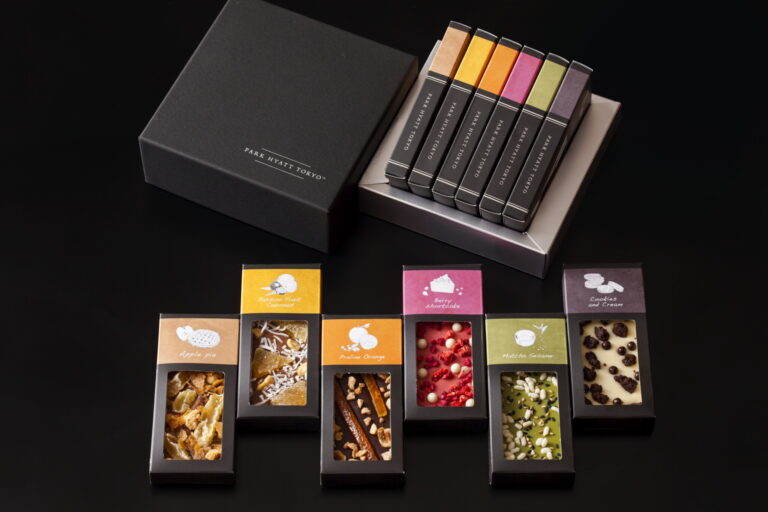 「チョコレートバー コレクション」11cm×5cm 4,200円。