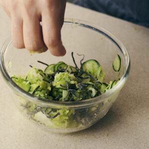 塩レモンと白菜の浅漬け