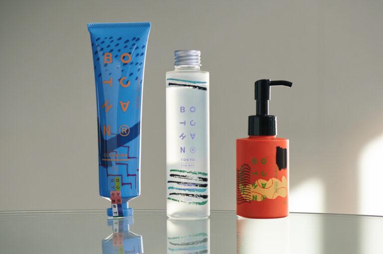 左から、洗顔「ジェントルクレンザー」2,090円、化粧水「フォレストトナー」2,200円、乳液「フラワーモイスチャライザー」2,530円