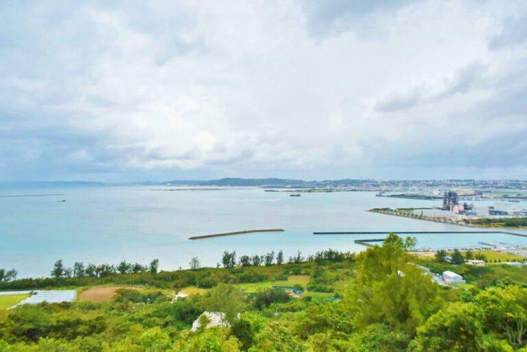 「中城湾」が一望できる絶景スポット!