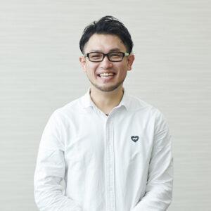 〈伊藤忠商事〉スポーツウェア課・清田進之介さん。