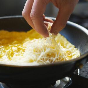 【POINT】チーズ好きは多めに。