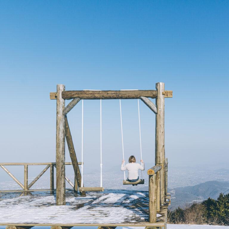 #雲辺寺山頂公園 #天空のブランコ
