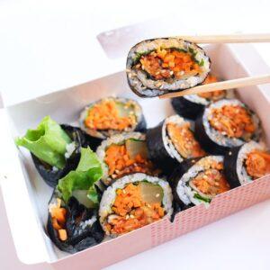 韓美膳〉の「豚キムチキンパ」