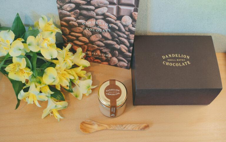 〈ダンデライオン・チョコレート〉の「チョコレートプリン」