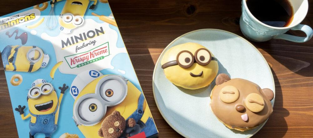 世界的人気キャラクター『ミニオン』との初コラボ!〈クリスピー・クリーム・ドーナツ〉の新作をチェック。