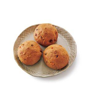 クルミ入りの「ゴーブレッド」。糖質は通常の低糖質パンと比べて1/3以下!