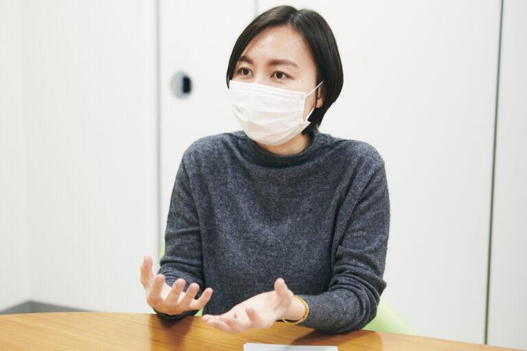 〈株式会社イー・エス・エス〉新規 ブランド・マネージャーの黒木茉弥さん。