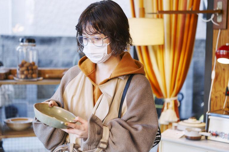 「何回来ても飽きないお店。先日は古着も購入しました!」(藤沢さん)。