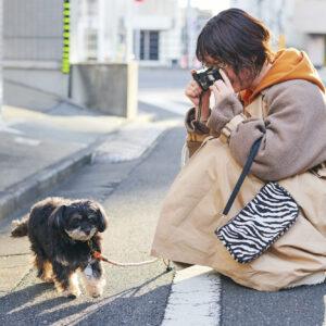 「目標はムギをかわいく撮ること。あとは、コロナが落ち着いたら旅行に持って行きたいです」(藤沢さん)。