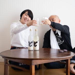 まずはお味見として、乾杯!