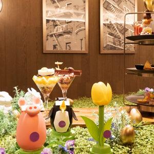 〈ホテル インターコンチネンタル 東京ベイ〉の『HAPPY イースターフェスティバル with ヴァローナ』スタート。