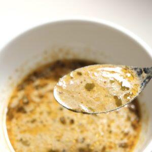 「きのこスープ」はその名の通りサラサラ。