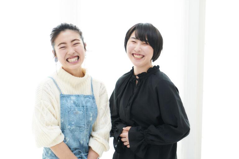 左から細川芙美さん、伊藤ひいなさん。