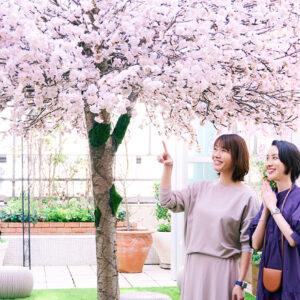 Hanakoコラボの企画もいっぱい。ファンケル 銀座スクエアの「お花見ガーデン」へGO!