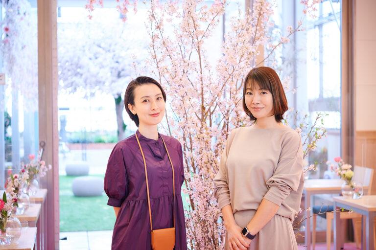 左から前田紀至子さん、高木沙織さん。
